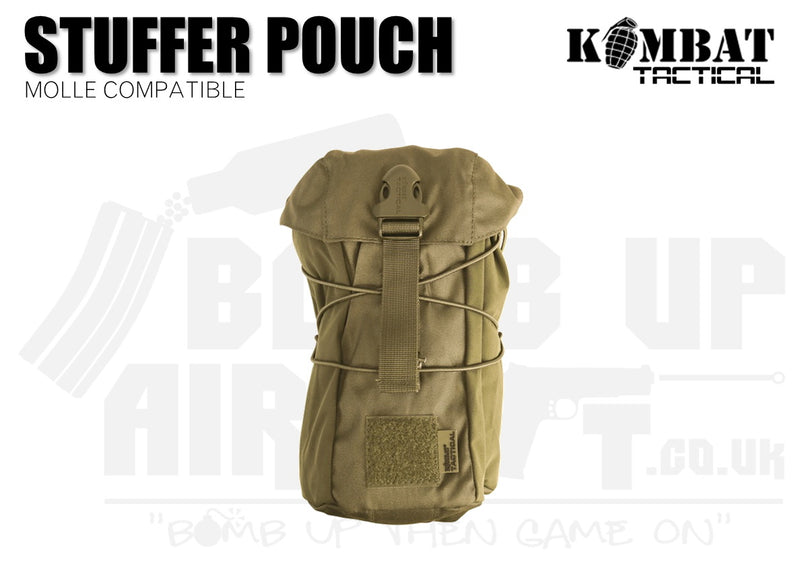 Kombat UK Stuffer Pouch - Tan