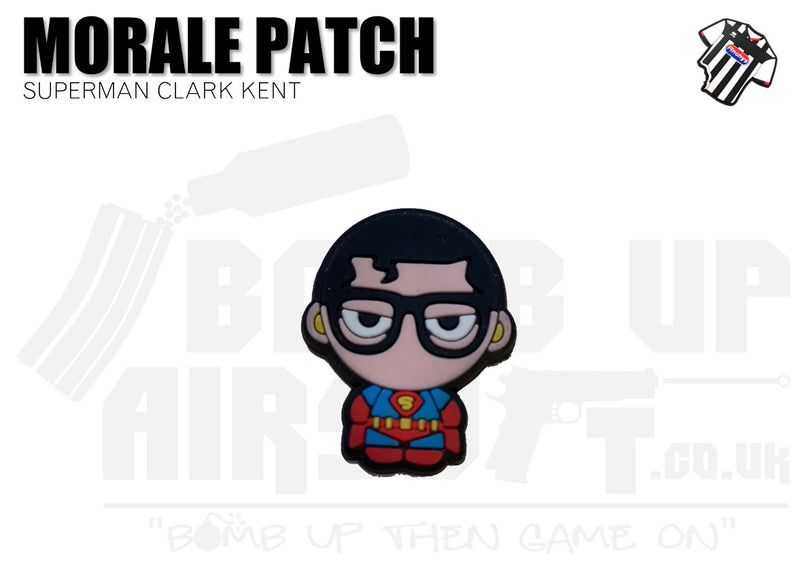 Superman Clark Kent Mini PVC Patch