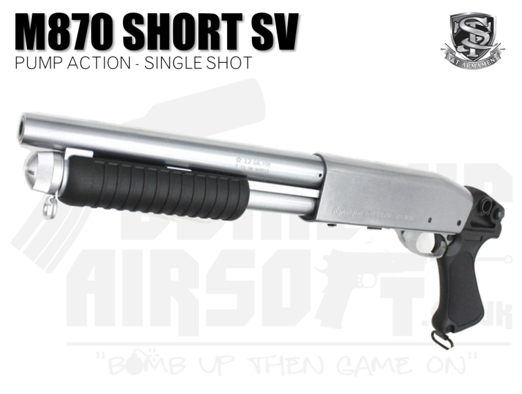 S&T M870 Short Model SV Shotgun