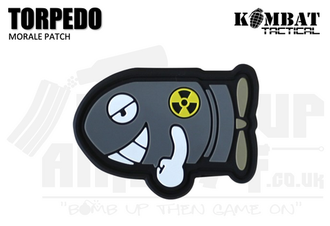 Kombat UK Torpedo Rubber Patch