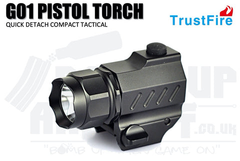 Trust Fire QD Compact Tactical Pistol Torch G01