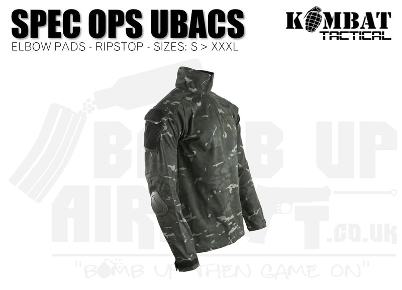 Kombat UK Spec Ops UBACS - BTP Black