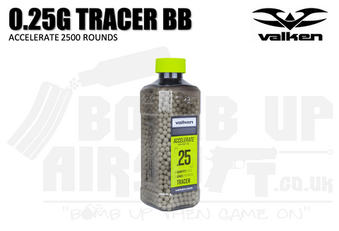 Valken Accelerate Promatch Tracer BBs - 0.25G