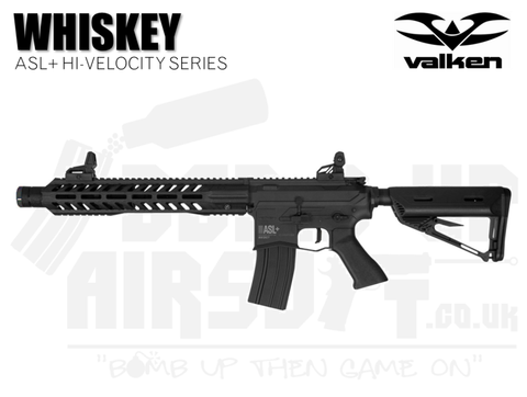 Valken ASL+ Series Hi-Velocity Whiskey AEG Rifle