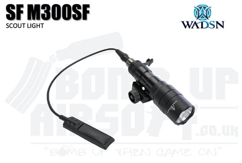 WADSN SF M300SF Scout Light - Black