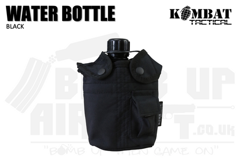 Kombat UK Water Bottle - Black