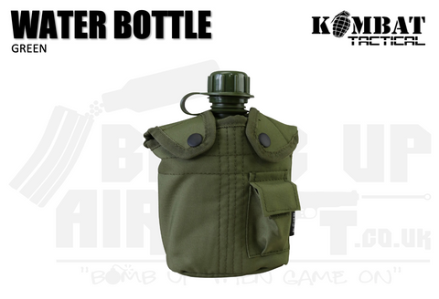 Kombat UK Water Bottle - OD Green