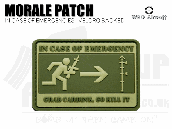 WBD Incase of Emergency Patch