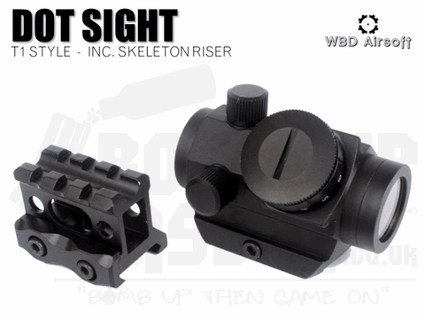 WBD T1 STYLE SIGHT WITH RISER