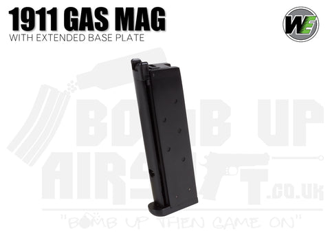 WE 1911 15 Round Mag - Thick Base