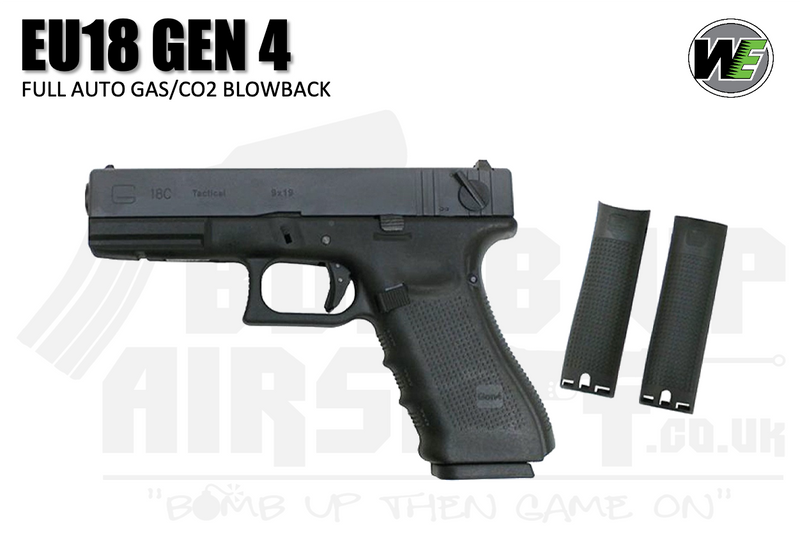 WE EU18 Gen 4 GBB Airsoft Pistol