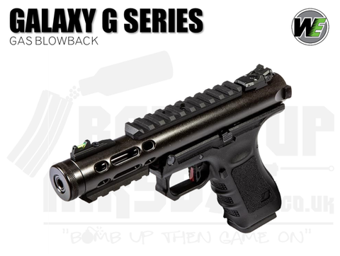 WE Galaxy G-Series - GBB Airsoft Pistol - Black