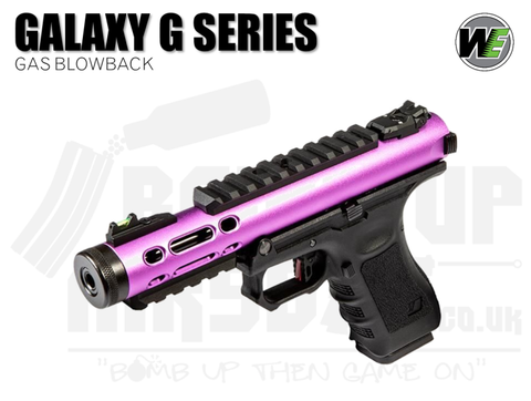 WE Galaxy G-Series - GBB Airsoft Pistol - Purple