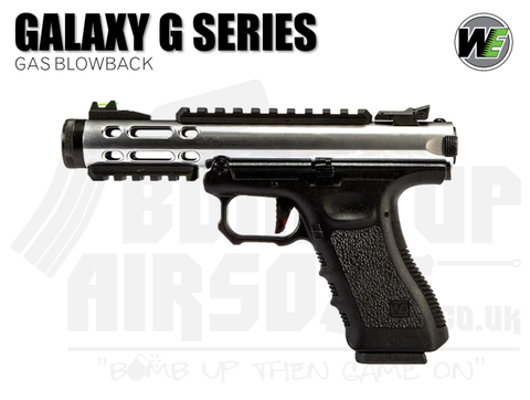 WE Galaxy G-Series - GBB Airsoft Pistol - Silver