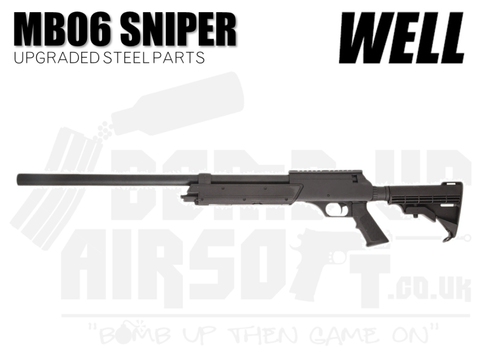 Well MB06 Sniper Rifle - (Upgraded Steel Parts)