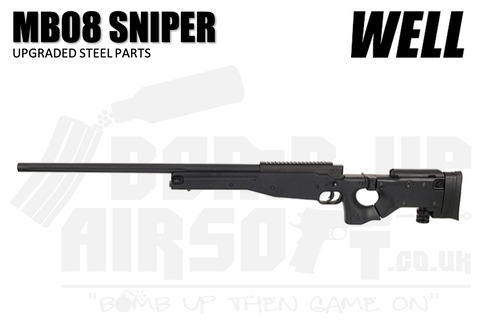 Well MB08 Sniper Rifle - Folding Stock (Upgraded Steel Parts)