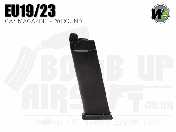 WE EU19/EU23 GBB Pistol Magazine