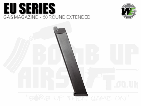 WE EU17 / EU18 / EU Series Extended 50 Round Mag