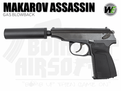 WE AIRSOFT GBB MAKAROV AIRSOFT PISTOL