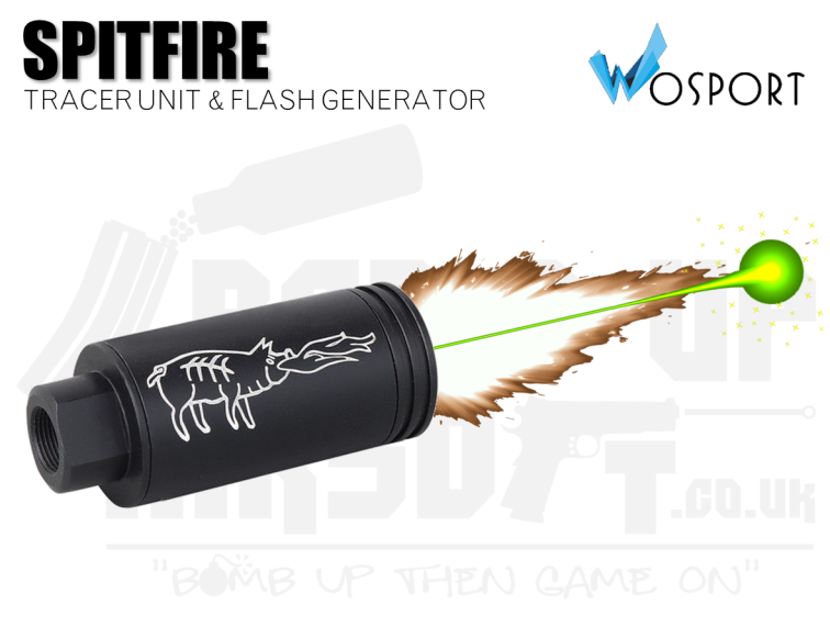 WoSport Spitfire Tracer Unit - 14mm CCW Full Metal