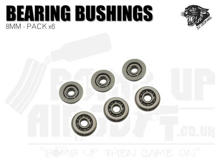 ZCI 6x 8mm Ball Bearing Bushings