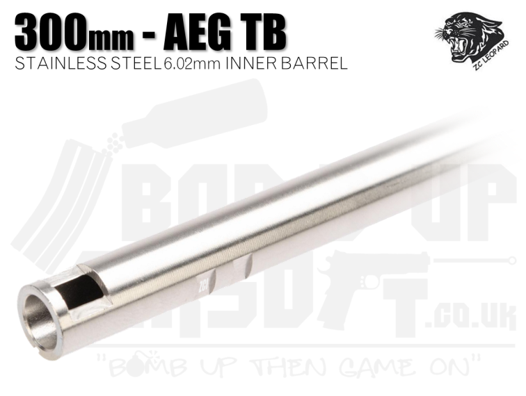 ZCI Stainless Steel 6.02mm Inner Barrel - 300mm