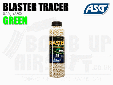 ASG Blaster Tracer BB 0.25g x3300 Green