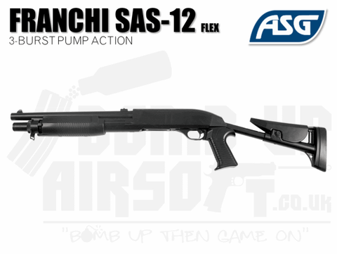 ASG Franchi Spas-12 Flex Stock Tri Shot Shotgun
