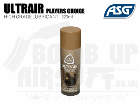 ASG Ultrair High Grade Lubricant 220ml