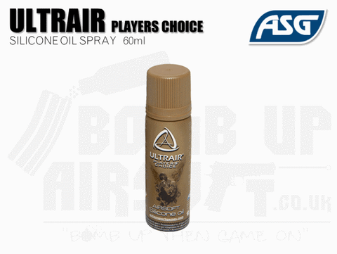 ASG Ultrair Silicone Oil Spray 60ml