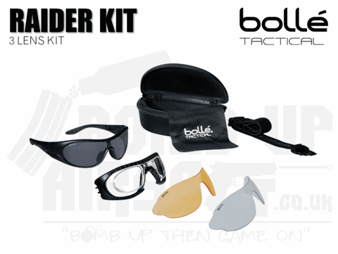 Bolle Tactical Raider Kit Glasses
