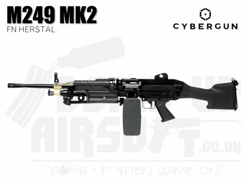 Cybergun FN Herstal Minimi M249 MK2 With Sound Control Drum Mag