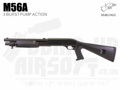 Double Eagle M56A Airsoft Shotgun