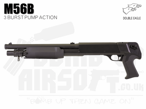 Double Eagle M56B Airsoft Shotgun