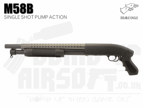 Double Eagle M58B Airsoft Shotgun
