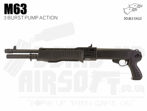 Double Eagle M63 Airsoft Shotgun