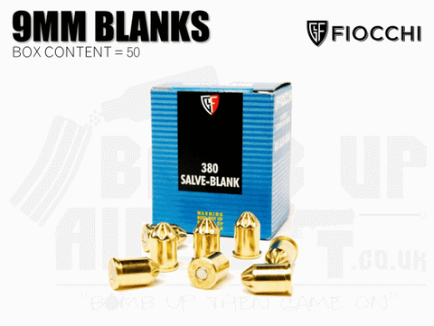 Fiocchi 9mm Blanks x 50