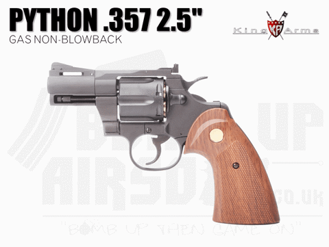 "King Arms Python .357 2.5"" Gas Revolver"