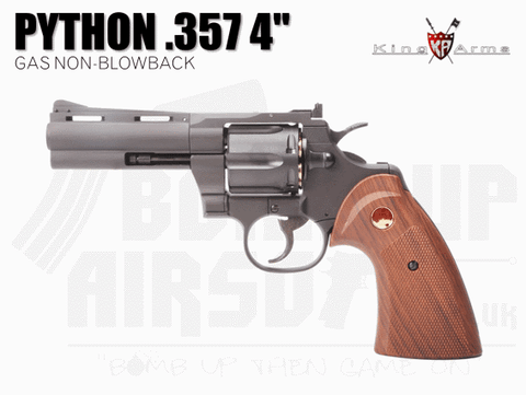 "King Arms Python .357 4"" Gas Revolver"