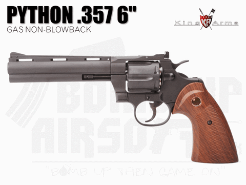 "King Arms Python .357 6"" Gas Revolver"