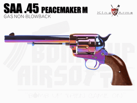 King Arms SAA .45 Peacemaker Revolver - BLUING
