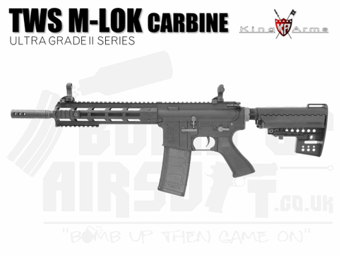 King Arms M4 TWS M-Lok Carbine Ultra Grade II