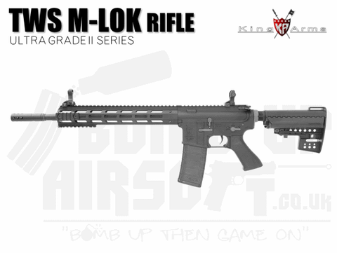 King Arms M4 TWS M-Lok Rifle Ultra Grade II