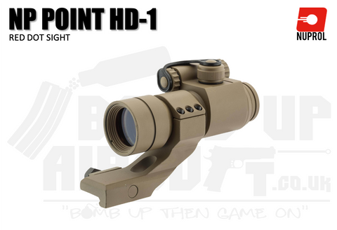 Nuprol NP Point HD-1 RDS Sight - FDE