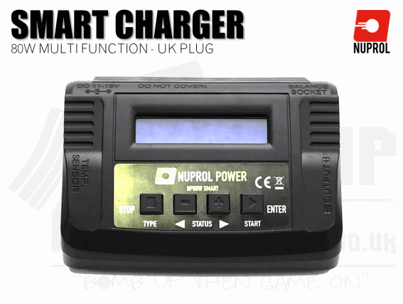 Nuprol 80w Smart Charger/Discharger