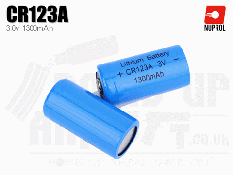 Nuprol CR123a Battery