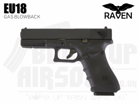 Raven EU18 Gas Blowback Airsoft Pistol