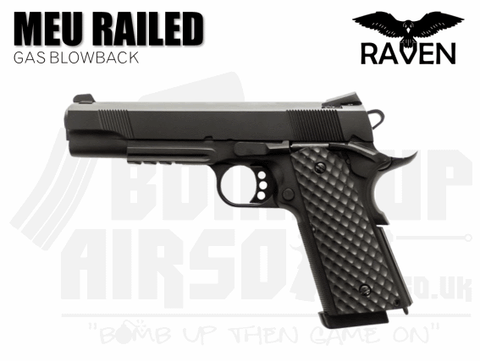 Raven MEU 1911 Railed Airsoft Pistol