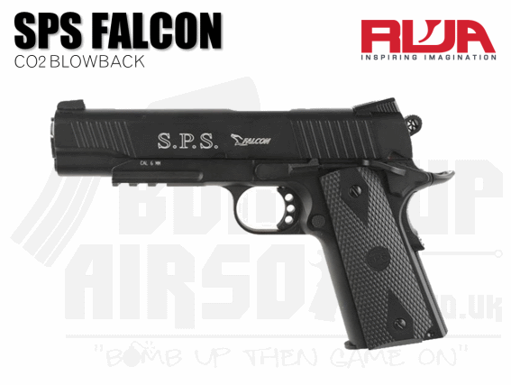 RWA SPS Falcon Co2 Blowback Airsoft Pistol