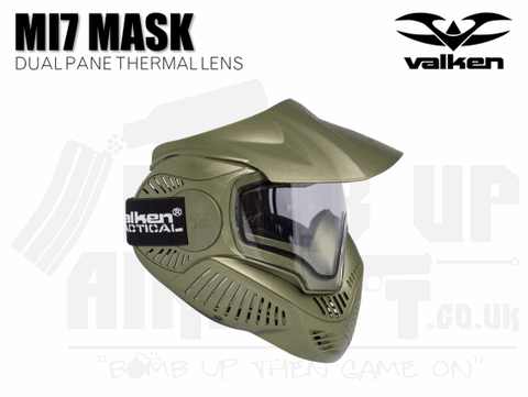 VALKEN MI7 MASK - GREEN